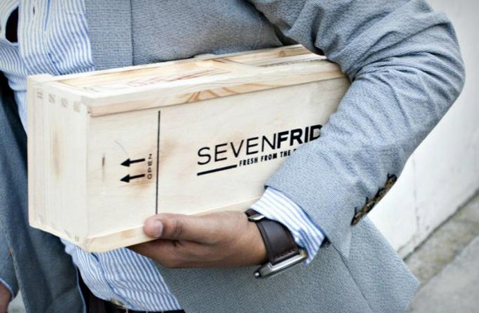 SEVENFRIDAY P3 wooden watch box