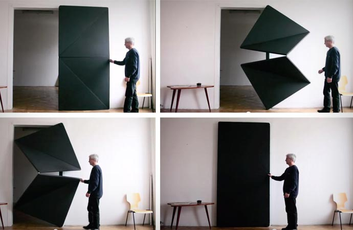 Evolution shape shifting door by Klemens Torggler