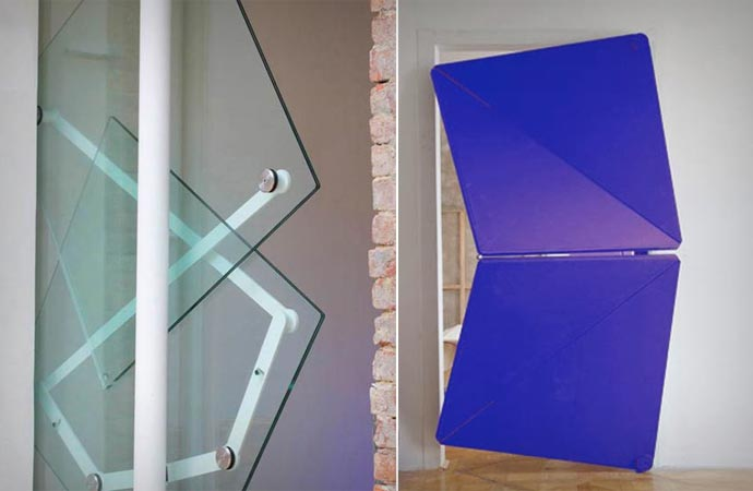 Shape shifting door by Klemens Torggler