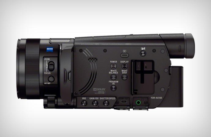 Sony 4k handycam FDR-AX-100