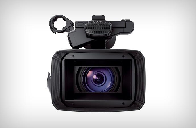 SONY FDR-AX1 4K lens