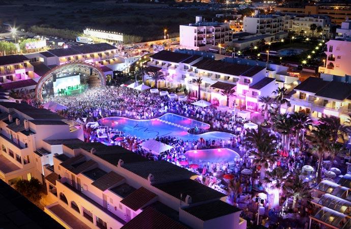 Parties at Ushuaia Ibiza hotel