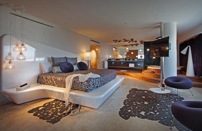 Room at Ushuaia Ibiza hotel
