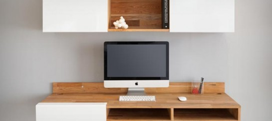 WALL MOUNTED DESK | BY MASHSTUDIOS