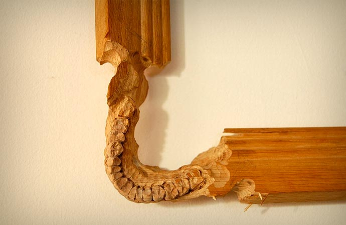 Wood carving by Maskull Lasserre