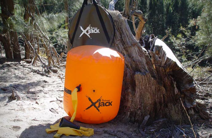 X-Jack Inflatable jack by Bushranger