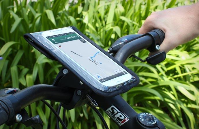 Ridemate bicycle phone mount