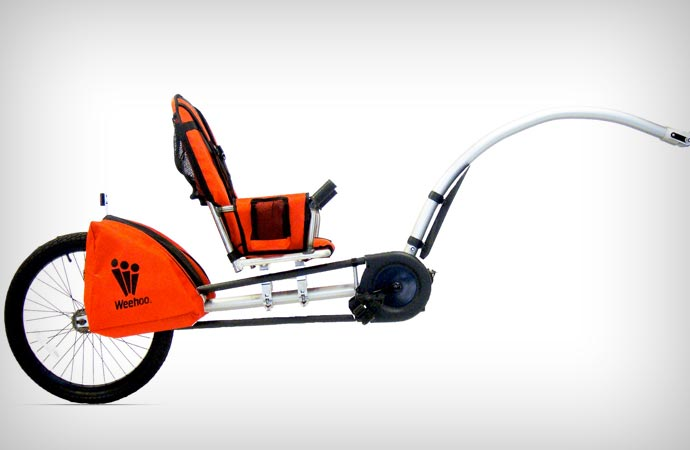 Bicycle trailer by Weehoo