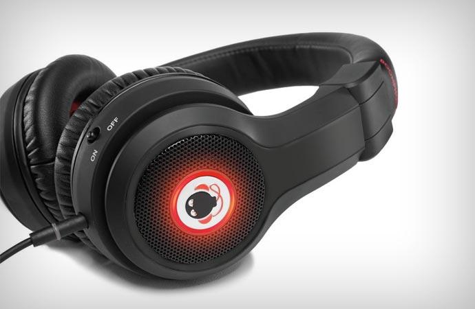 Boomphones phantom headphones with boombox