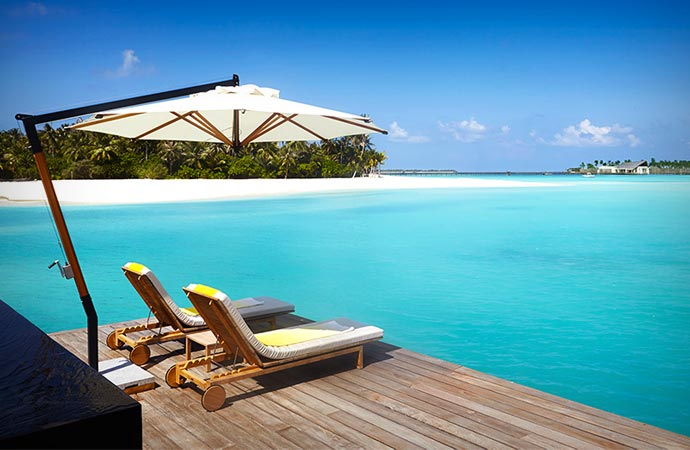 Cheval Blanc resort accommodation in the Maldives