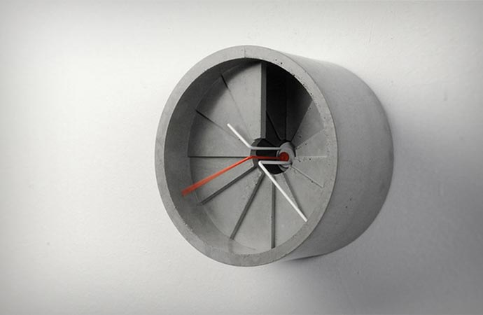wall clock by 22 design studio