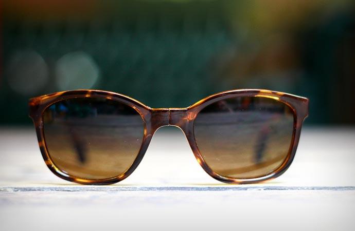 Tonga foldable sunglasses