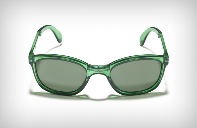 Sunpocket foldable glasses