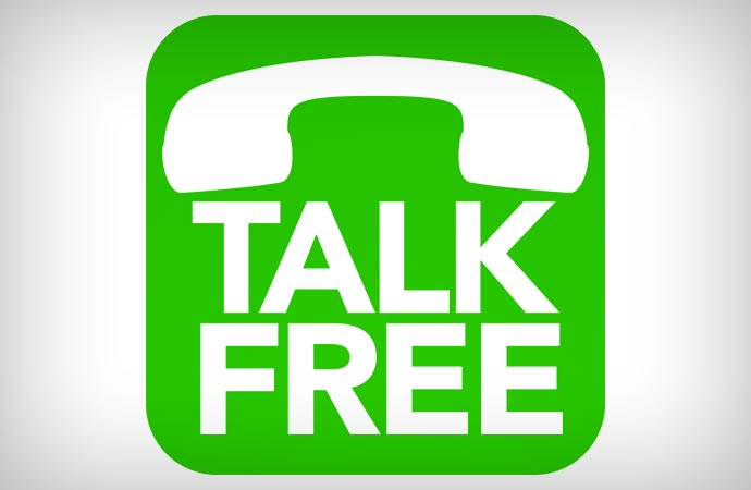Free calls to the US and Canada with a mobile app