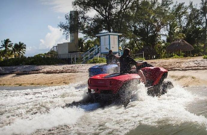 Quadski amphibious ATV by GIBBS