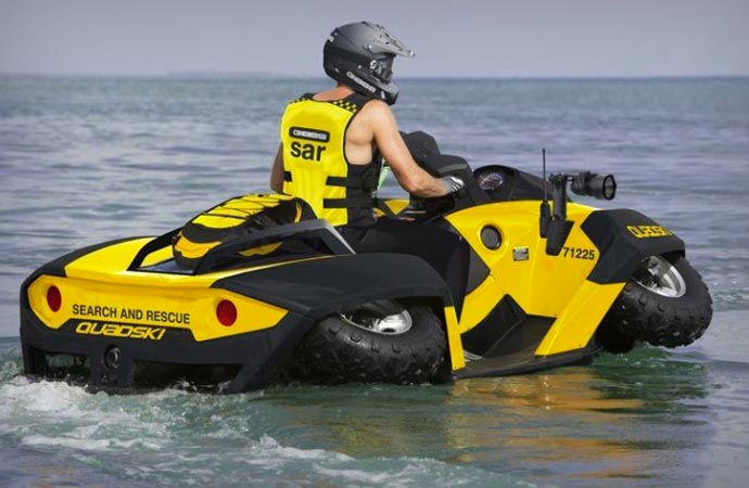 Quadski amphibious ATV