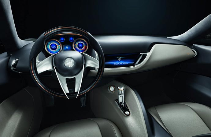 Inside the Maserati Alfieri