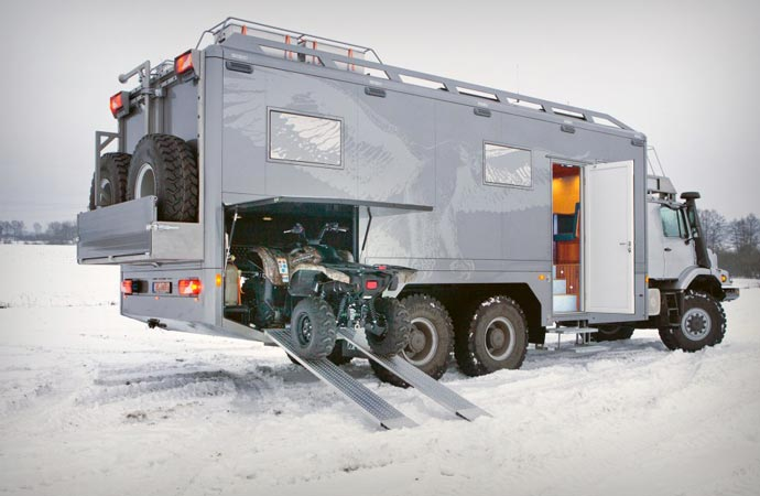 Mercedes-Benz Zetros quad bike