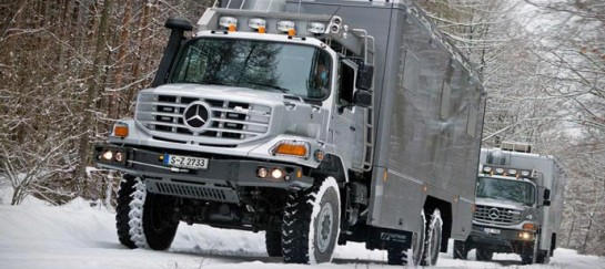MERCEDES-BENZ ZETROS 2733 | 6X6 EXPEDITION VEHICLE