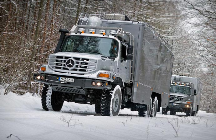 Mercedes-Benz Zetros expedition vehicle