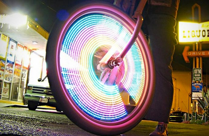 Monkeylectric bicycle lights