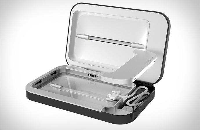 Phonesoap cell phone charger and sanitizer