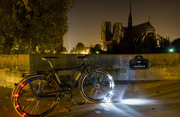 LED bike lighting system