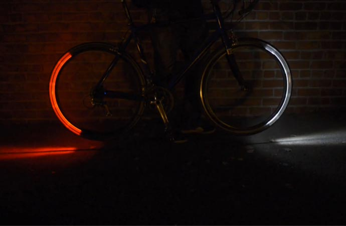 Revolight LED bike lighting