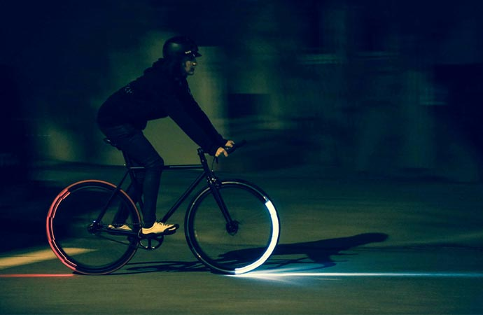 Revolight bicycle lighting