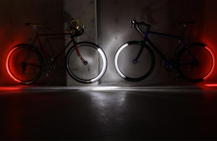 LED lighting system for bikes