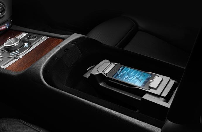 Interior design of the Rolls Royce Ghost Series II