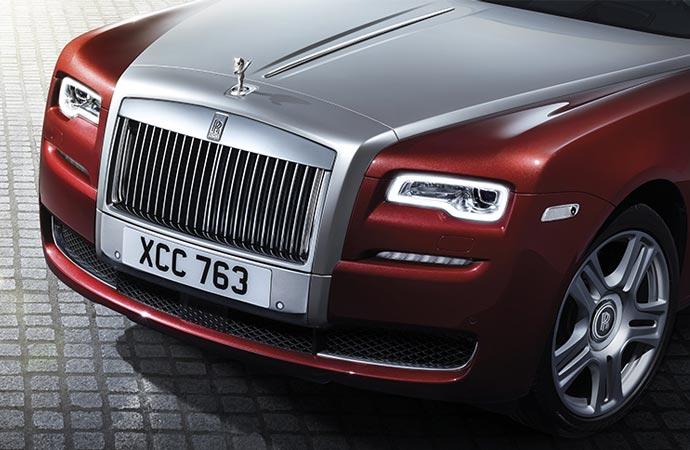 Rolls Royce Ghost Series II hood