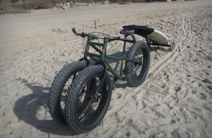 Rungu fat tire bike