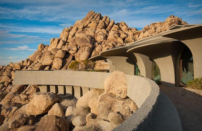 Staggering Residence in Joshua Tree