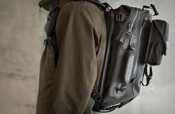 Urban modular backpack