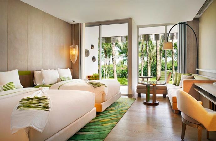 Room at the W in Bali