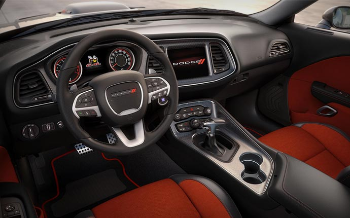 Exceptional 2015 Dodge Challenger Interior