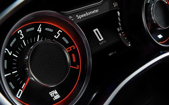 2015 Dodge Challenger speedometer