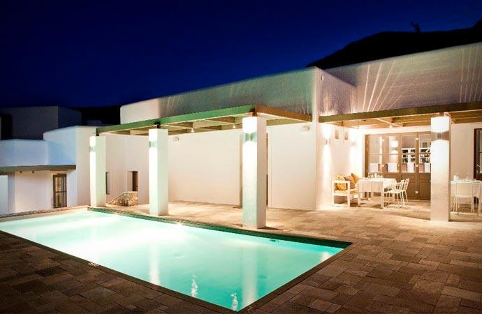 Pool at Anemi Hotel