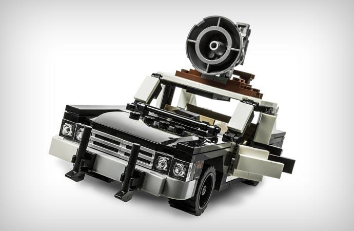 Bluesmobile Lego