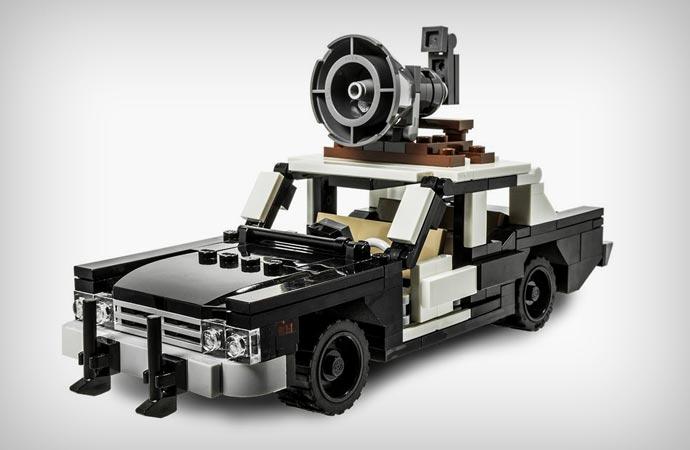 Blues Brothers Bluesmobile Lego Kit Jebiga Design