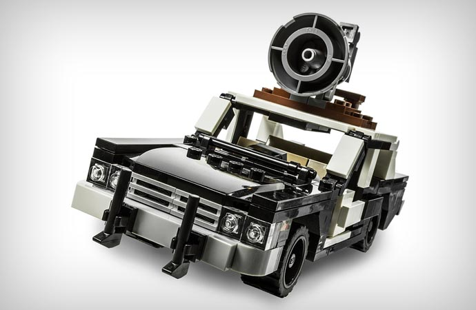 Bluesmobile lego kit