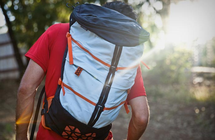 Modular backpack from Boreas Gear