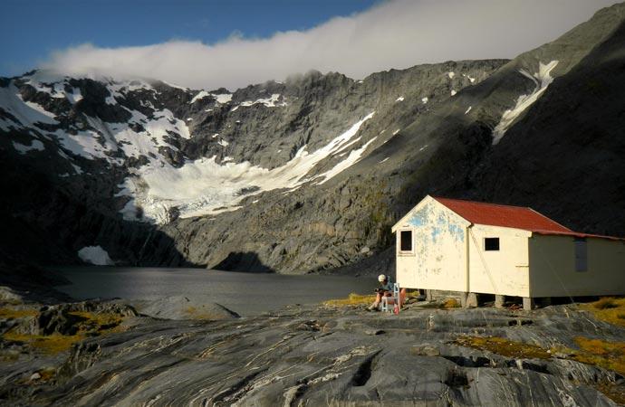 Cabin Porn near a fjord