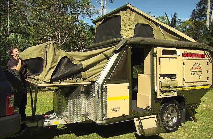 Conqueror Uev 440 Off Road Trailer Jebiga Design Amp Lifestyle