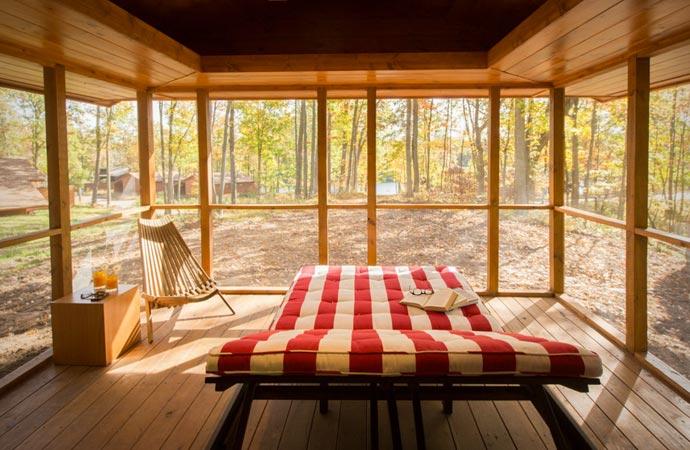 Escape Cabin design
