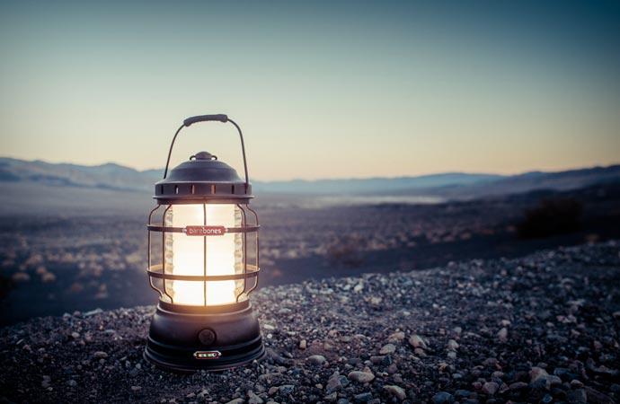 Forest camp lantern