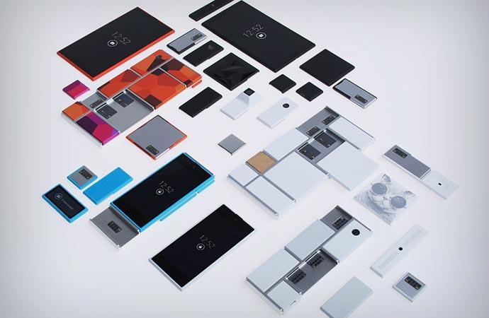 Pieces of the Google modular phone