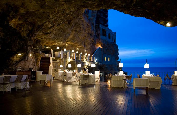 Restaurant at Grotta Palazzese