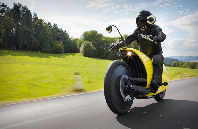 Johammer J1 motorcycle